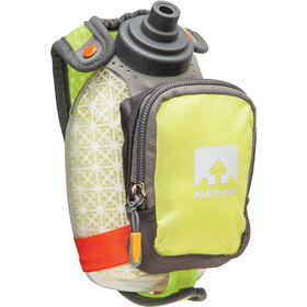 Nathan QuickShot Plus Insulated Gourde avec pochette 300ml, lime punch